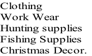 Clothing